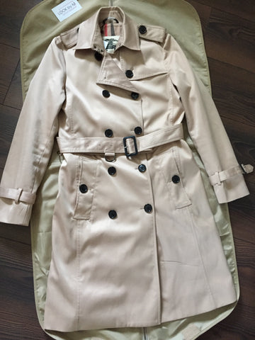 "Тренч Burberry медовый ""Воротник"" 