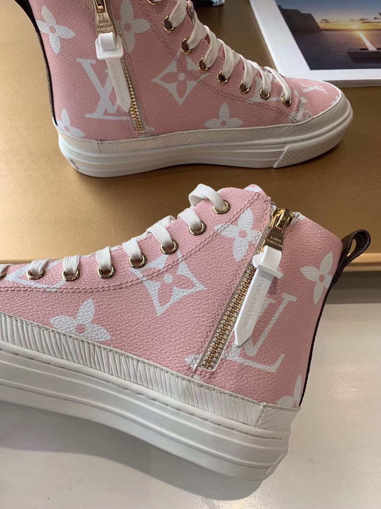 Кеды высокие Louis Vuitton 2019\2020  | LV Hight SNEAKERS 2019\2020
