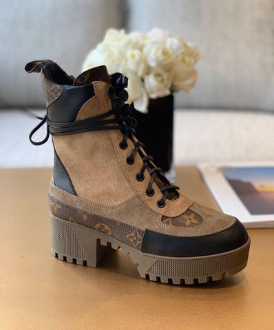 Ботинки Louis Vuitton Laureate беж | Louis Vuitton Laureate boots beige