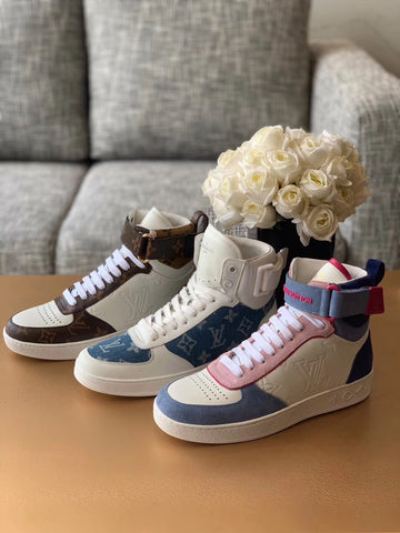 Кеды Louis Vuitton высокие | Louis Vuitton sneakers hight
