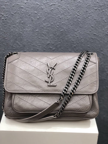 Сумка Saint Laurent Niki графит | Saint Laurent Niki graphite bag