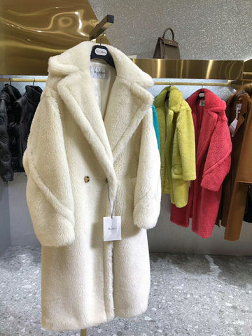 Плюшевое пальто Max Mara teddy bear | Max Mara fur coat