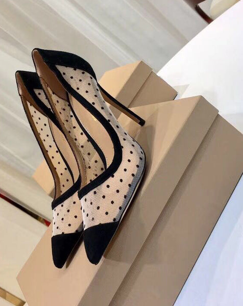 Туфли Gianvito Rossi горох | Gianvito Rossi pumps dot