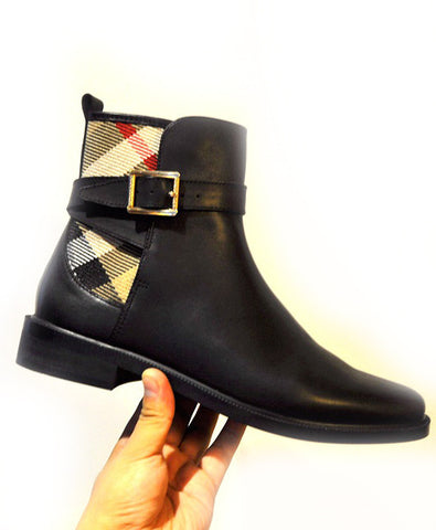 Ботильоны Burberry | Burberry Black Ankle boots