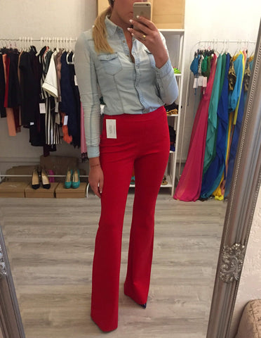 Стильные брюки клеш Italy | Stylish flared pants Italy