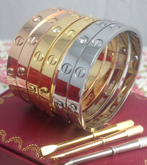 Браслет Cartier белое золото | Cartier Love Bracelet White gold