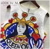 Платье мини DG Queen Of | Mini dress Queen Of