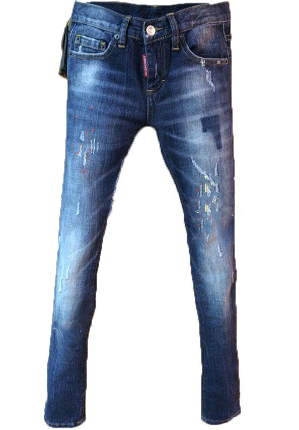 Джинсы Dsquared синие | Dsquared women's jeans blue