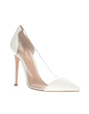 Туфли Gianvito Rossi белые | Gianvito Rossi pvc pumps white