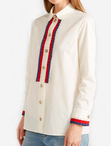 Рубашка Gucci белая | Gucci white shirt