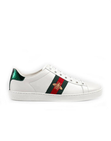 Белые кеды Gucci | Gucci white sneakers