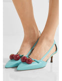 Туфли Gucci с вишенками | Gucci shoes cherries