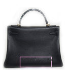 Сумка Hermes Kelly черная | Hermes Kelly black bag