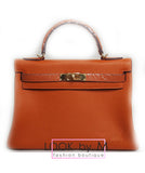 Сумка Hermes Kelly оранж | Hermes Kelly orange bag
