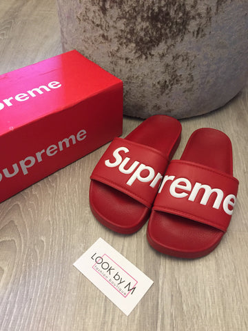 Шлёпанцы Supreme | Supreme slippers