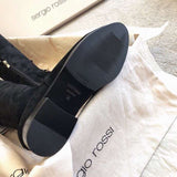 Ботфорты Sergio Rossi черные | Sergio Rossi black hight boots