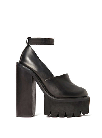 Туфли Jeffrey Campbell черные | Jeffrey Campbell black pumps