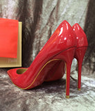 Лодочки Christian Louboutin So Kate красные | Pumps Christian Louboutin So Kate red