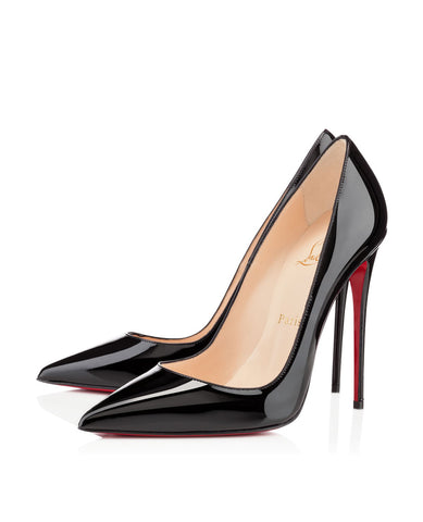 Лодочки Christian Louboutin So Kate черный лак | Pumps Christian Louboutin So Kate black