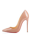 Лодочки Christian Louboutin So Kate беж лак | Pumps Christian Louboutin So Kate nude