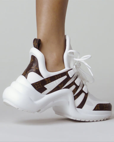 Louis Vuitton ARCHLIGHT белые  | LV ARCHLIGHT SNEAKERS WHITE