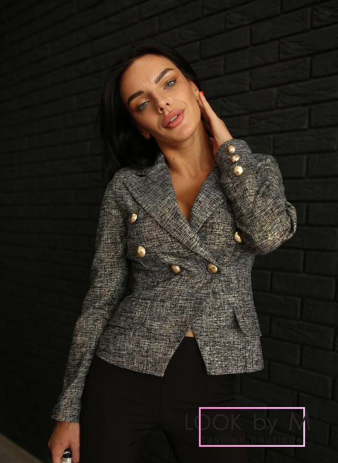 Твидовый пиджак | Tweed jacket