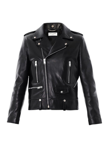 Кожаная куртка Saint Laurent | Leather jacket Saint Laurent
