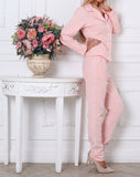 Пижамный костюм black+pink | Pajama suit black+pink