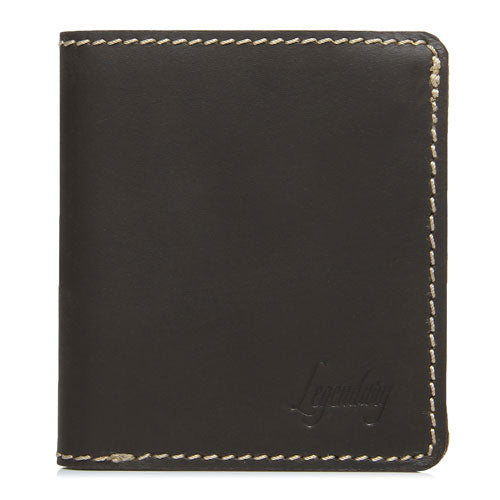 Large Bifold Brown Wallet By Legendary Leather