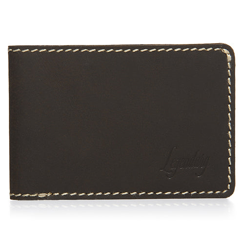 Small Bifold Brown Wallet By Legendary Leather
