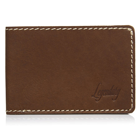 Small Bifold Tan Wallet By Legendary Leather