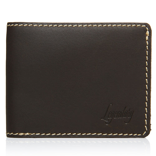 Medium Bifold Brown Wallet By Legendary Leather