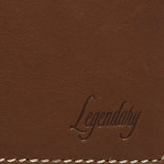 Large Bifold Tan Wallet By Legendary Leather