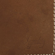 Medium Bifold Tan Wallet By Legendary Leather