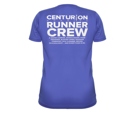 Centurion Running Crew Tee: Mens and Womens