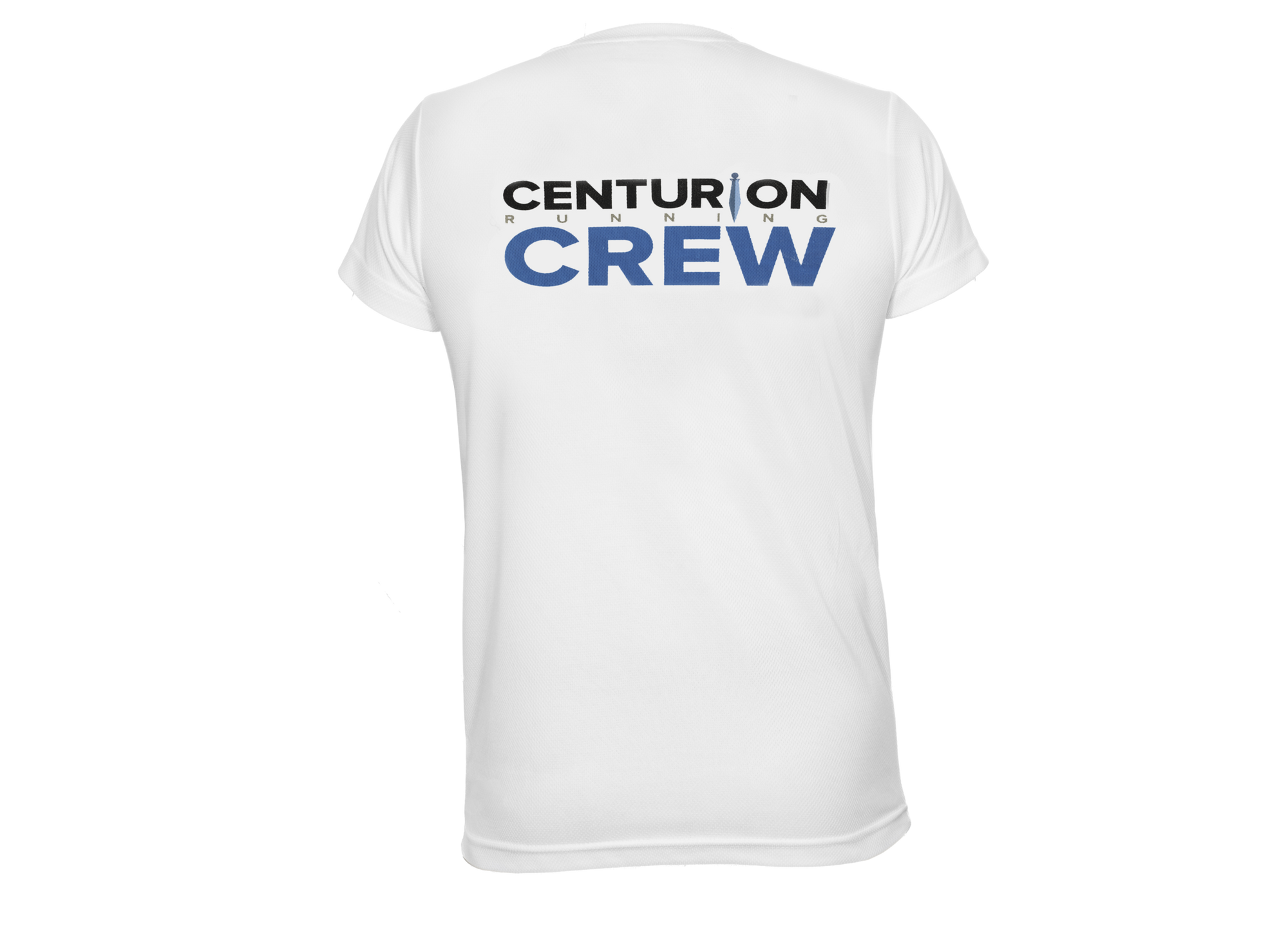 Centurion Running Crew Tee White: Mens and Womens