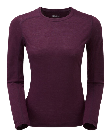 Montane Primino Womens Long Sleeve Baselayer