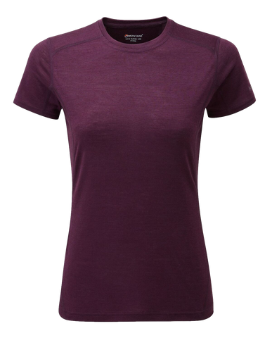 Montane Primino Womens Short Sleeve Baselayer T-Shirt