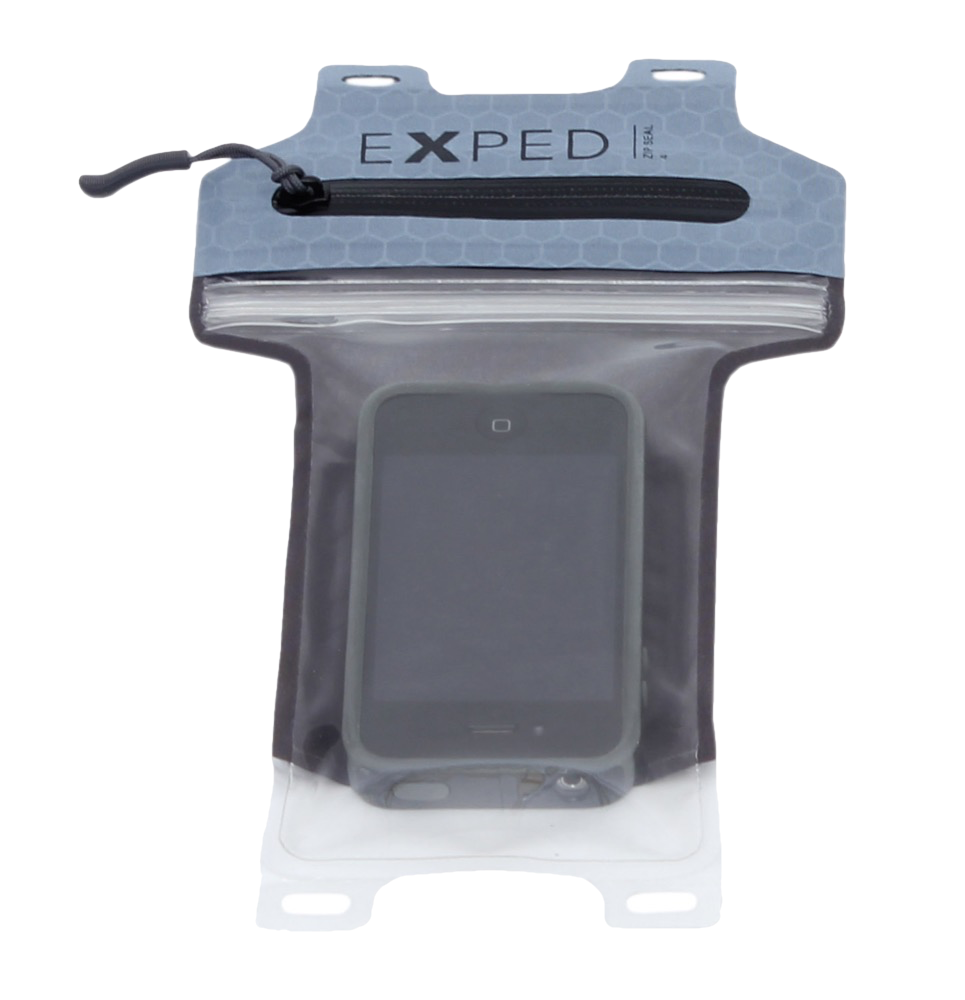 Exped Waterproof Phone Case: Zip Seal 4 Inch (iPhoneX or similar)