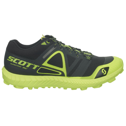 Scott Supertrac RC Womens Trail Running Shoes (Black / Yellow)