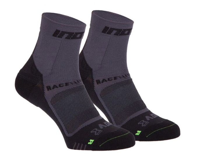 Inov8 Race Elite Pro Sock - 2 Pairs/ Twin Pack Black
