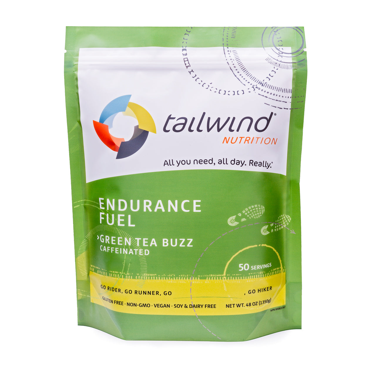 Tailwind Nutrition Endurance Fuel: 50 Serving Pack