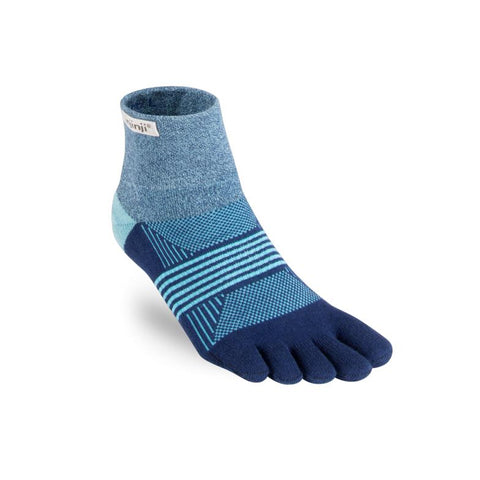 Injinji Womens Trail Socks: Mini-Crew