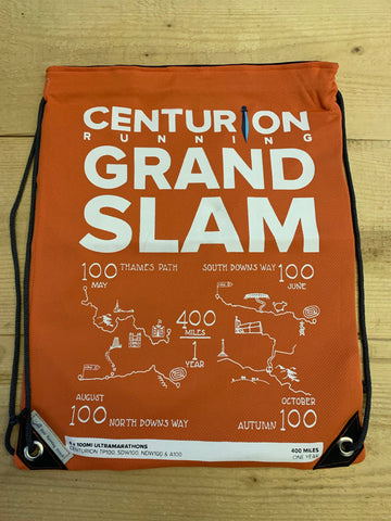 Centurion Running Upcycled Drop Bags - Grand Slam 50 & 100