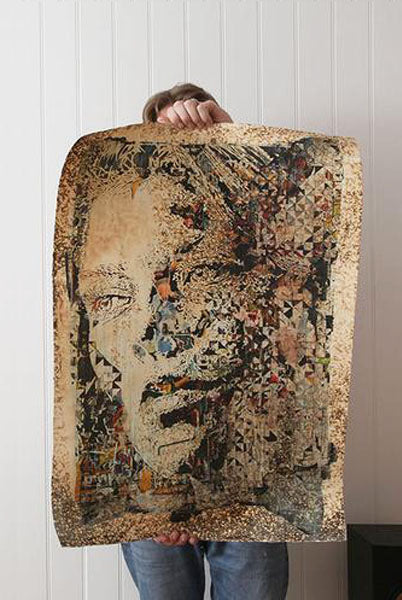 Stunning VHILS 'Contingency' piece!