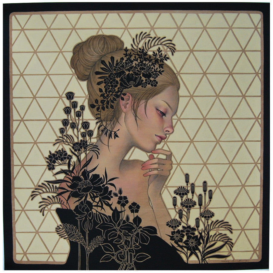 Audrey Kawasaki Maybe Tomorrow print