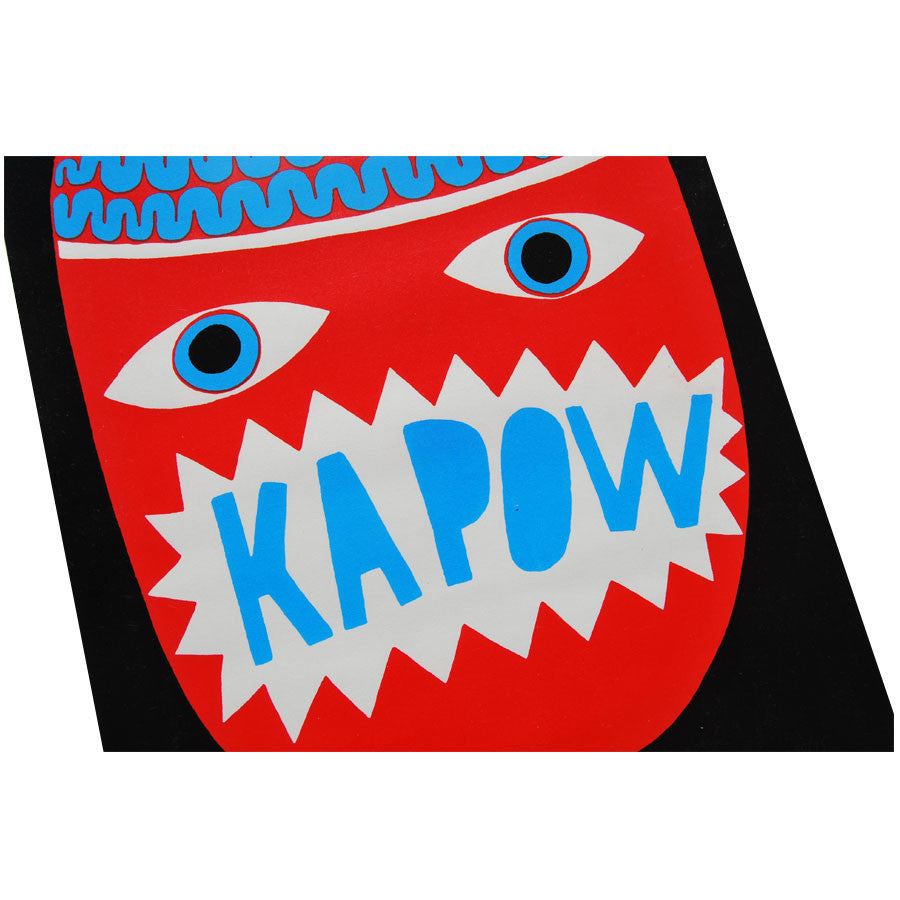 Kapow limited edition by David Shillinglaw