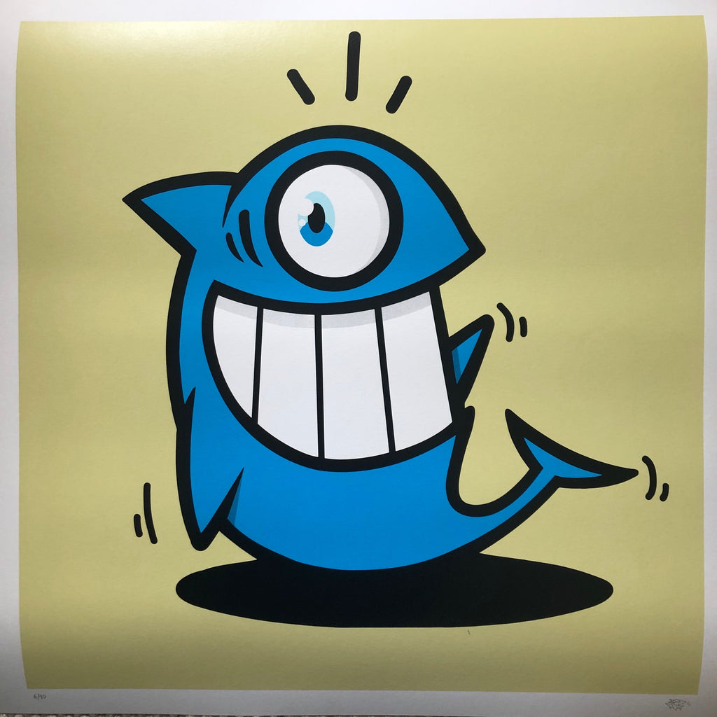 El Pez the Smiling Fish Print