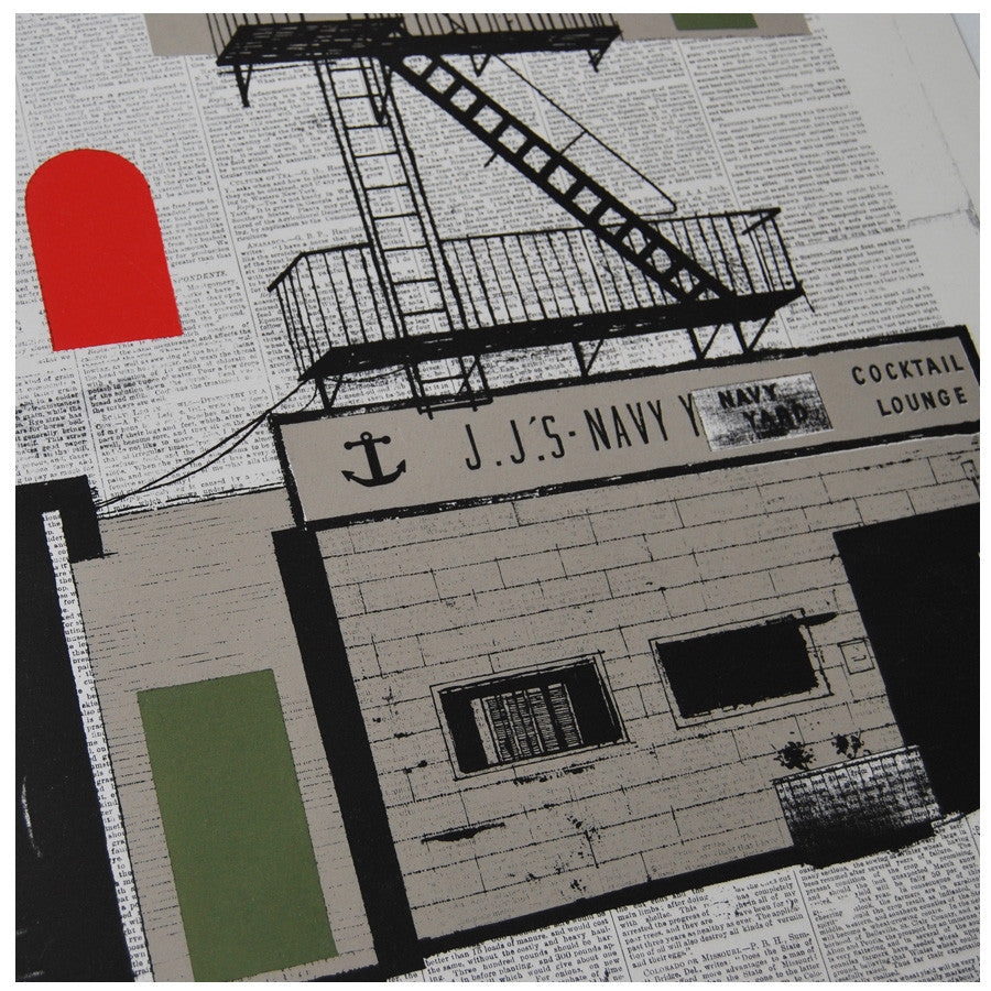 Evan Hecox limited edition Navy Yard print