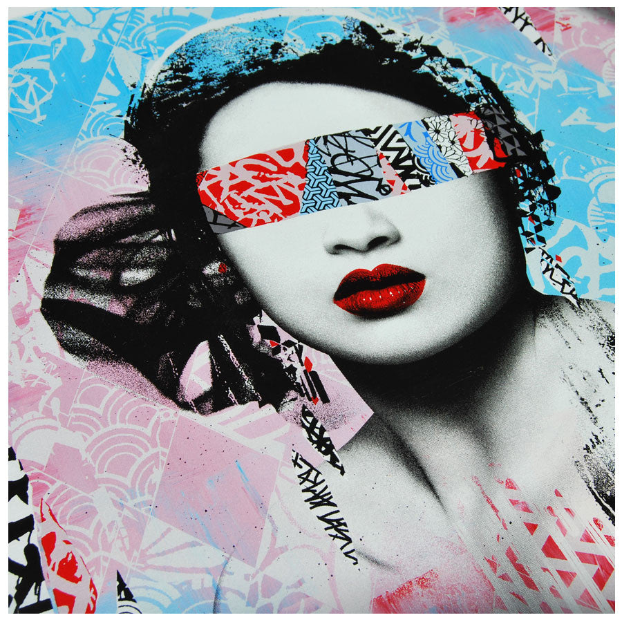 Signed Trials and Errors limited edition print by HUSH